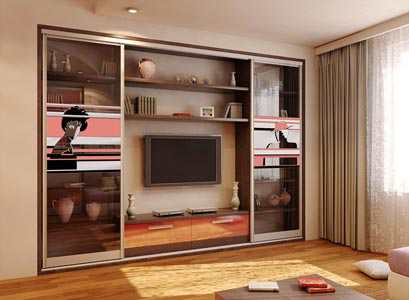 Шкафы купе в гостиную