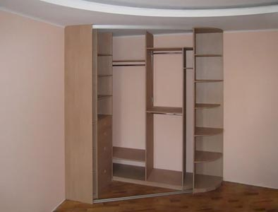 Угловые шкафы купе